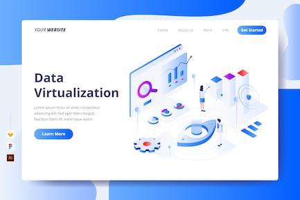 Virtualisation des données - Page de destination