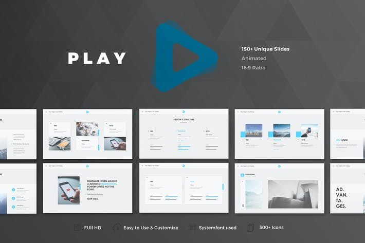 Thumbnail for Play Powerpoint Template