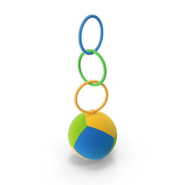 Juguete de bola colgante