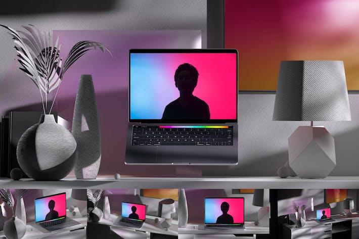 Thumbnail for Grey Laptop Mockups