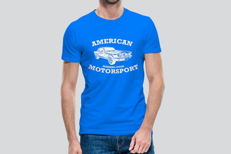 MotorSport   T-Shirt Design Vorlage