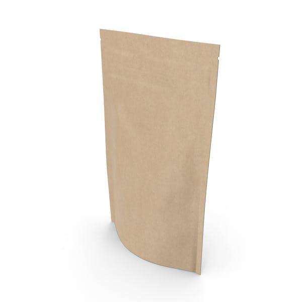 Zipper Kraft Paper Bag 150g