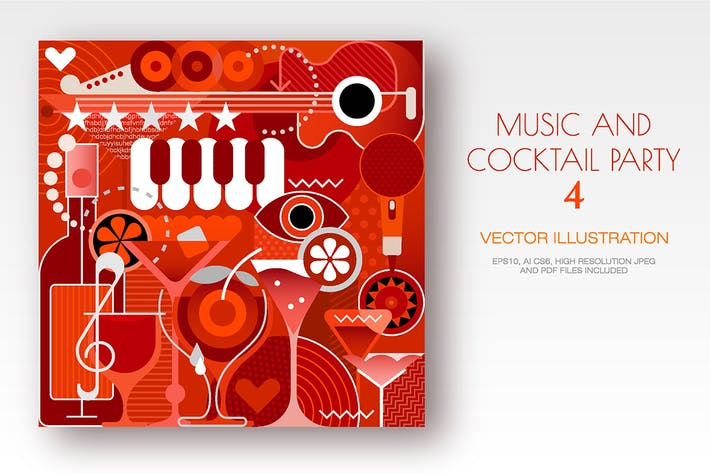 Thumbnail for Music Festival and Cocktail Party vector artwork