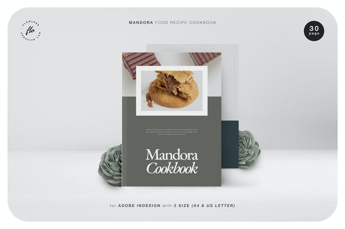 Thumbnail for Mandora Food Recipe Cookbook