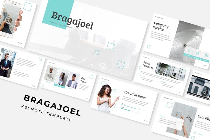 Cover Image For Bragajoel - Keynote Template