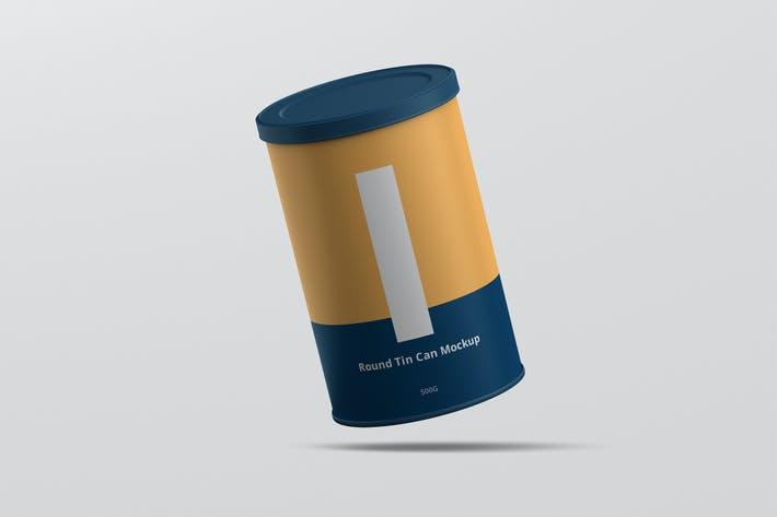 Thumbnail for Tin Can Mockup Round