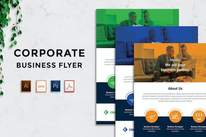 Thumbnail for Corporate Business Flyer - Rantautemp
