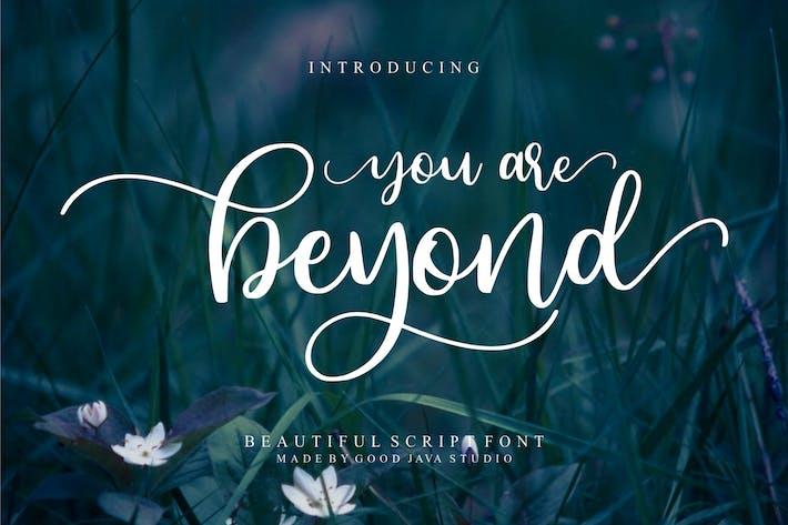 Beyond a Beauty Font