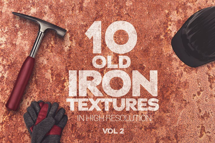 Thumbnail for Old Iron Textures x10 vol2