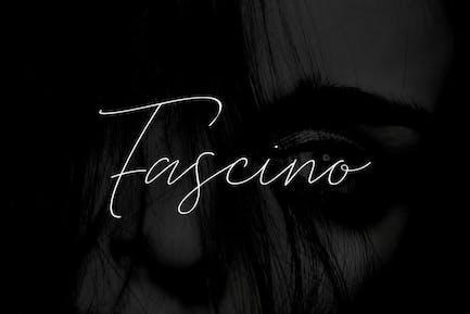 FASCINO - Handmade Luxury / Signature Typeface
