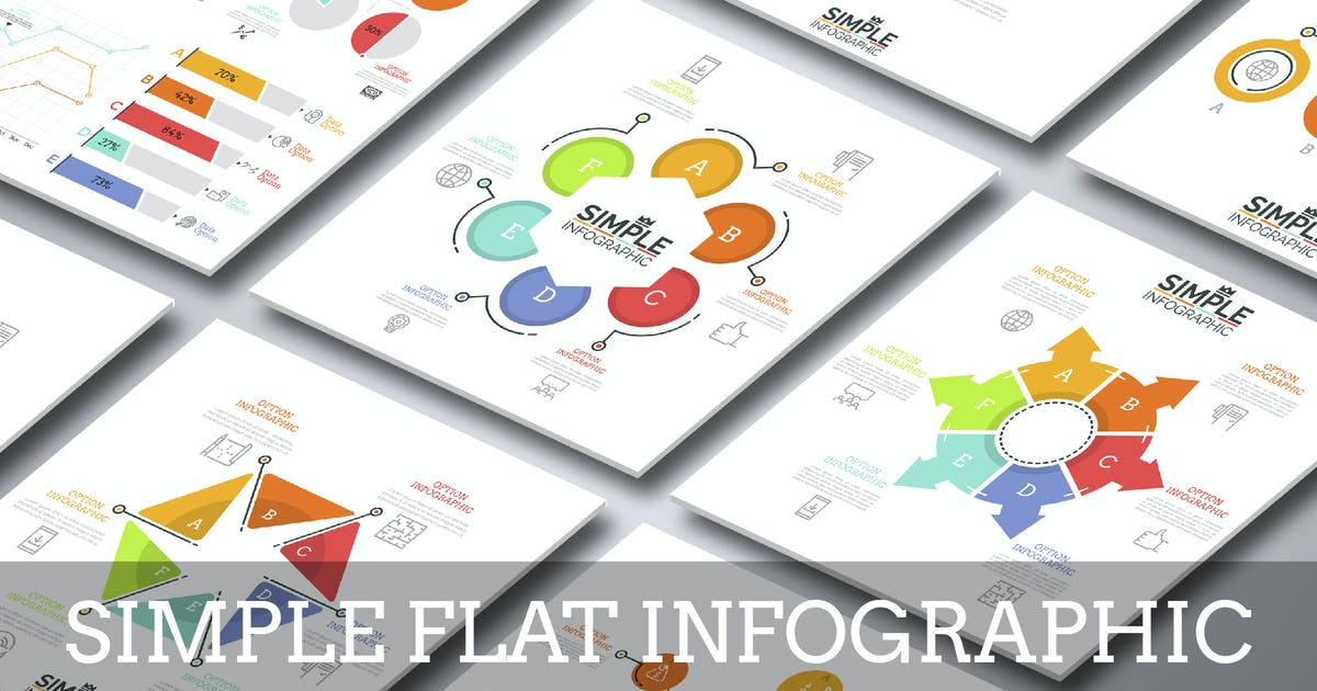 Download Simple Flat Infographic by Andrew_Kras