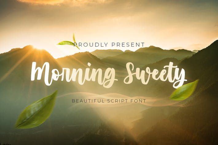 Thumbnail for Morning Sweety - Beautiful Script