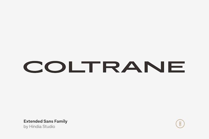 Cover Image For Coltrane - Extended Sans
