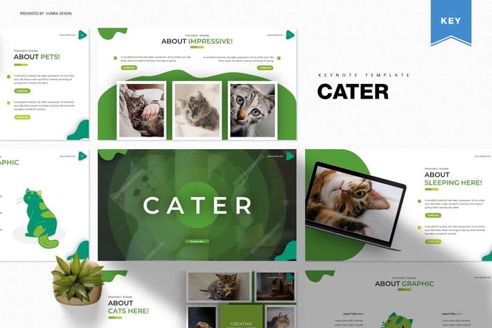 Cater | Keynote Template
