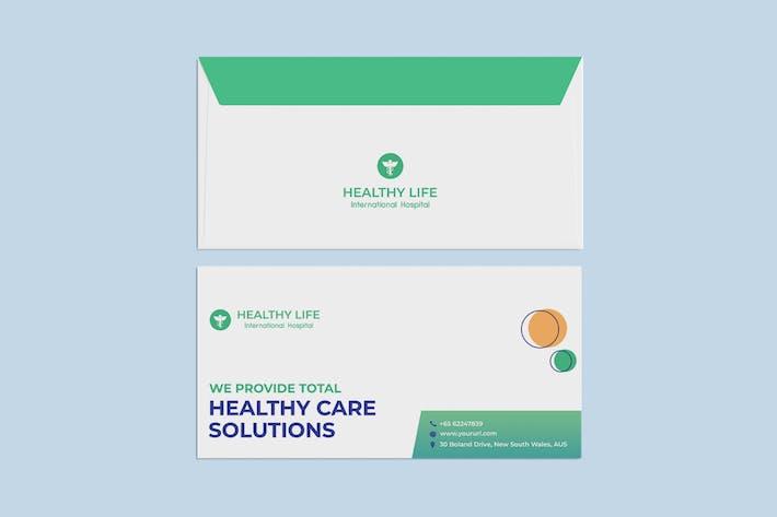 Thumbnail for Coronavirus medical Envelope