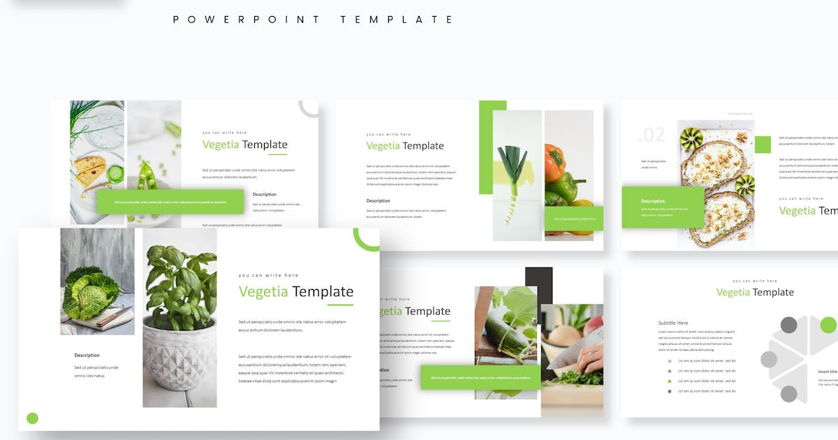 Download Vegetia - Powerpoint Template by aqrstudio