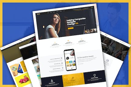 Corporate Business and Agency PSD Template