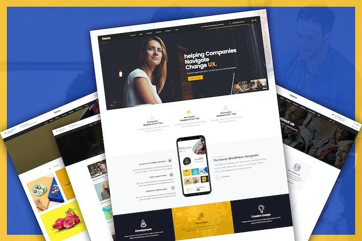 Thumbnail for Corporate Business and Agency PSD Template