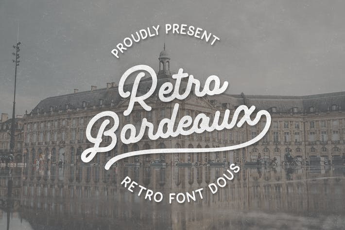 Thumbnail for Retro Bordeaux Duos (PreLogo Design)