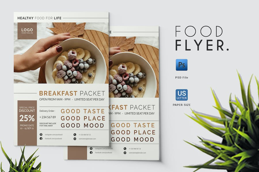 Food - Flyer Template