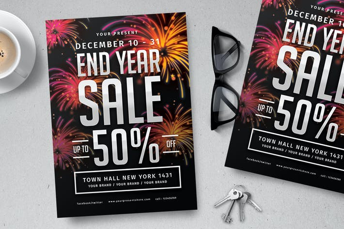 Thumbnail for End Year Sale Flyer