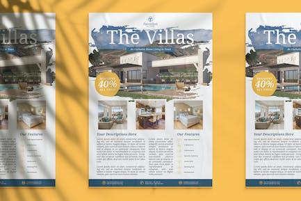 Exclusive Villa Flyer
