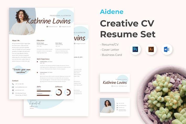 Thumbnail for CV Resume Professional