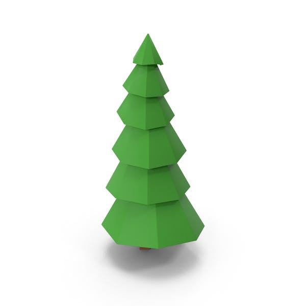 Thumbnail for Lowpoly Pine Tree