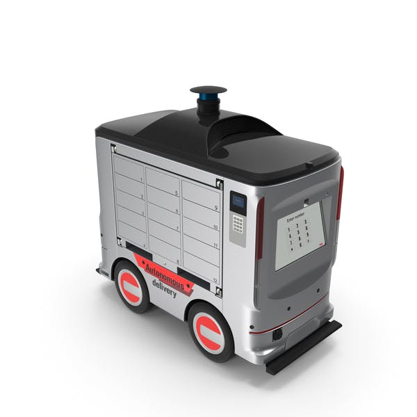 Thumbnail for Автономный робот службы доставки