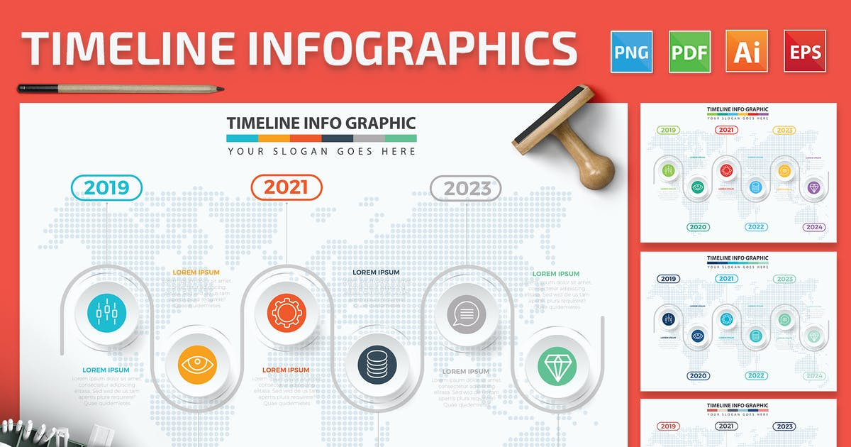 Download Timeline Infographics by mamanamsai
