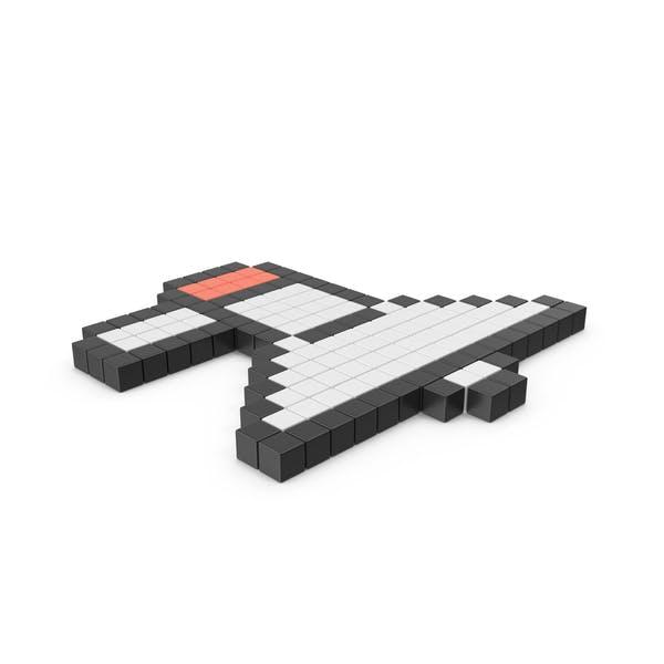 Thumbnail for Pixelated Megaphone Icon