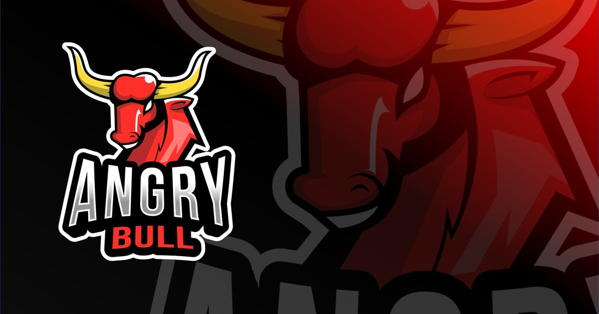 Download Angry Bull Esport Logo Template by IanMikraz