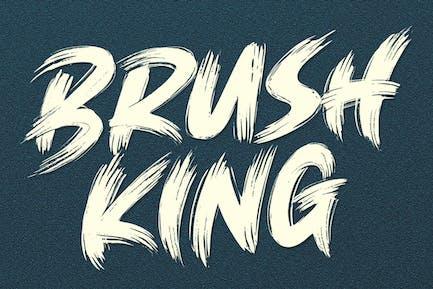 Brush King - Fuente de cepillo