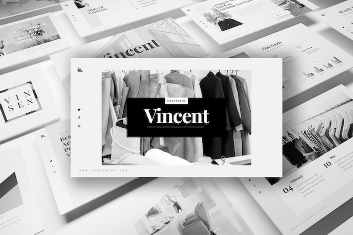 Thumbnail for Vincent Keynote Templates