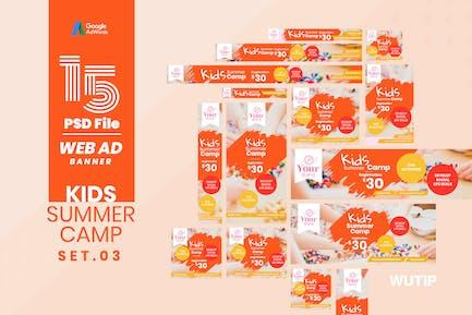 Web Ad Banner-Kids Summer Camp 03