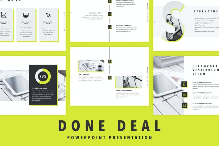Thumbnail for Done Deal PowerPoint Template