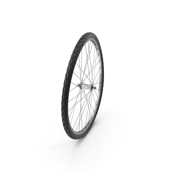Cover Image for Warped Bike Wheel