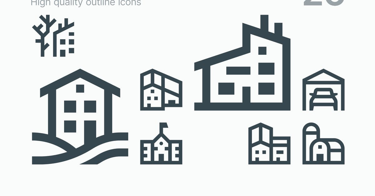 Download Houses Icons by polshindanil