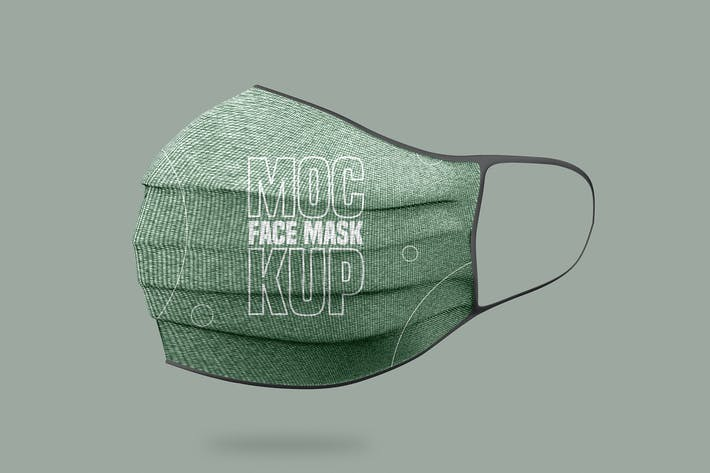 Thumbnail for Face Mask Mockup - Vol 02