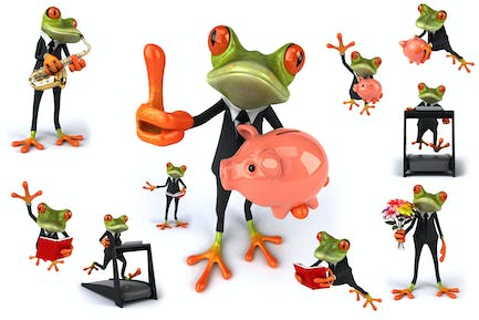10 Business Frogs !