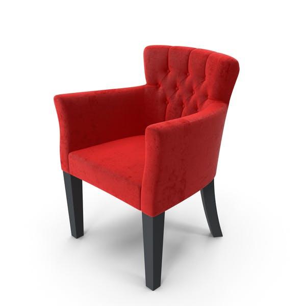 Бархатное кресло