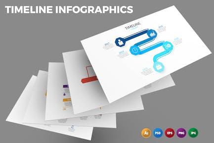 Timeline Table – Infographics Design