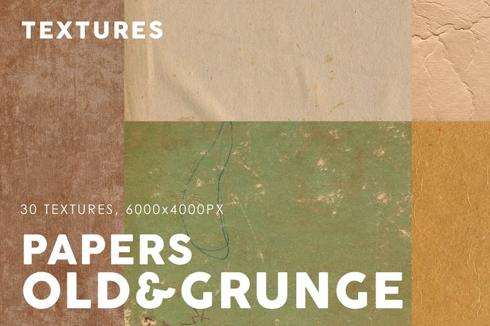 Thumbnail for Old & Grunge Paper Textures