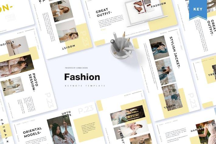 Thumbnail for Fashion | Keynote Template