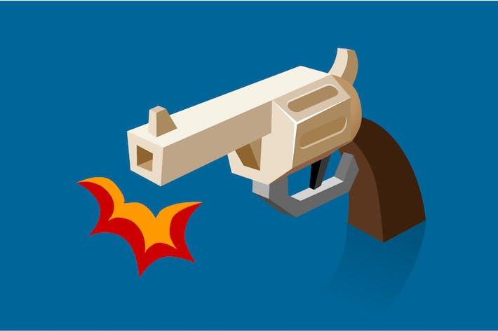 Thumbnail for Shooting revolver Bam
