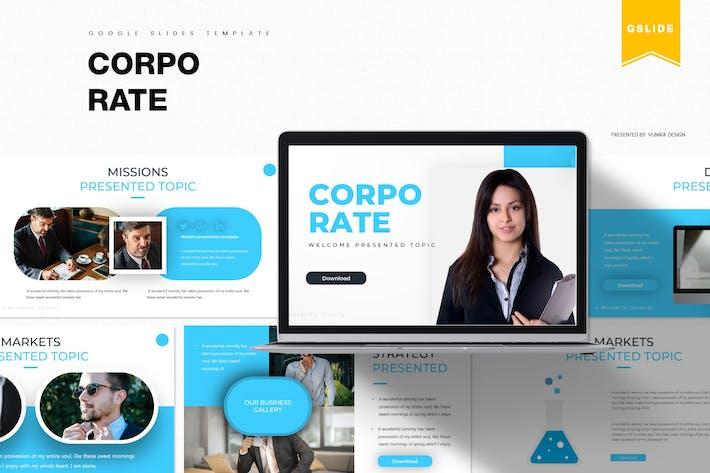 Thumbnail for Unternehmens- | Google PräsentationsVorlage