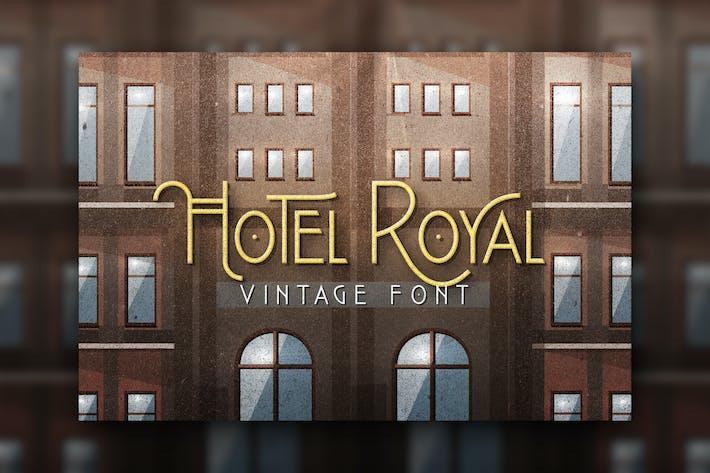 Thumbnail for Royal Hotel Font