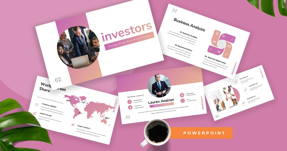 Download Investors - Startup Powerpoint Presentation by TMint