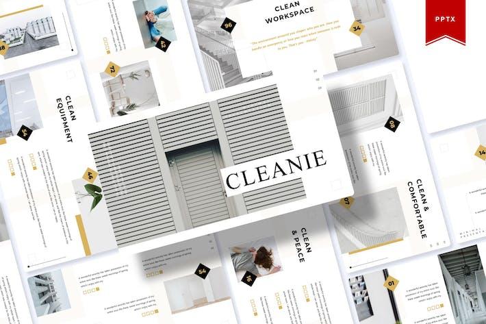 Thumbnail for Очистить|Шаблон Powerpoint