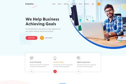 Empelza - Creative Agency  WordPress Theme